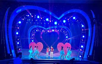 场景舞台、灯光及其它舞台设计