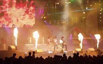 舞台喷火机
