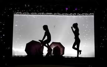 影子舞演出