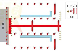 如何制作会场布置平面图